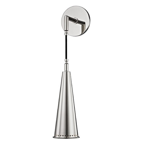 Hudson Valley Lighting Hudson Valley Lighting Alva Polished Nickel Sconce 1400-PN
