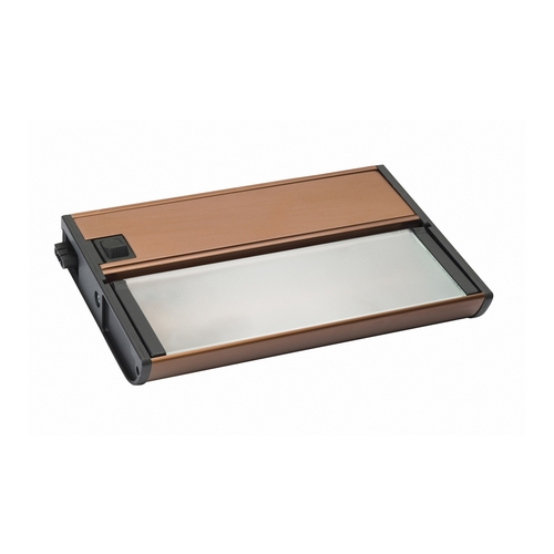 Kichler Lighting Kichler Lighting Modular Low V Xenon Brushed Bronze 7-Inch Linear Light 10565BRZ