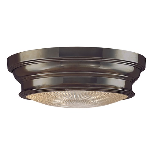 Hudson Valley Lighting Flushmount Light with Clear Glass in Old Bronze Finish 7513-OB