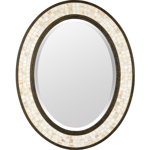 Quoizel Lighting Monterey Mosaic Oval 24-Inch Quoizel Mirror MY430242ML