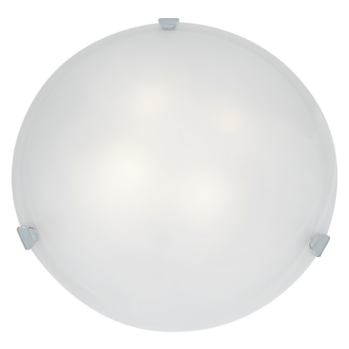 Access Lighting Access Lighting Mona Chrome Flushmount Light 23021GU-CH/WH