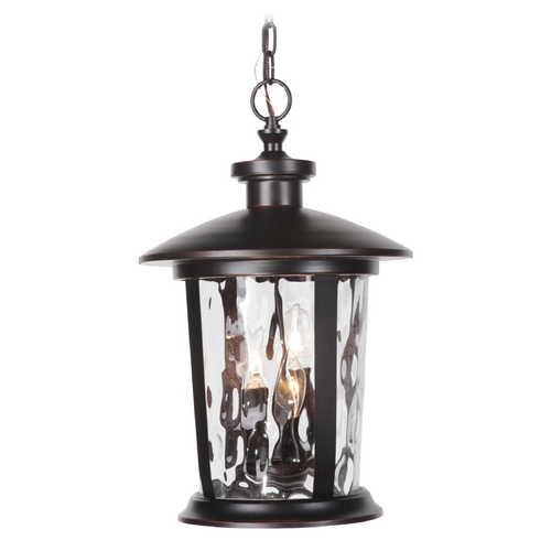 Craftmade Lighting Craftmade Lighting Summerhays Oiled Bronze Gilded Outdoor Hanging Light Z7121-88