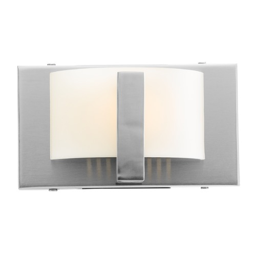 Access Lighting Access Lighting Oracle Brushed Steel Sconce 62031-BS/OPL