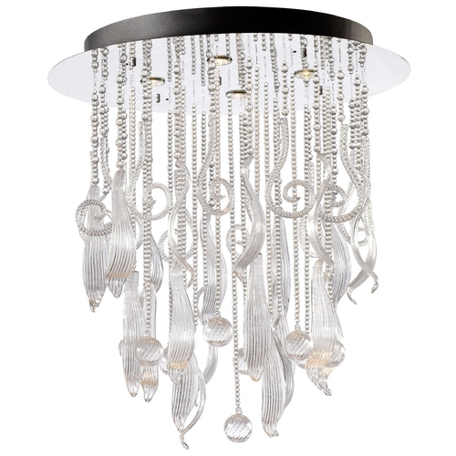 Cyan Design Cyan Design Mirabelle Chrome & Clear Pendant Light 4667
