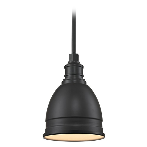 Elk Lighting Elk Lighting Carolton Oil Rubbed Bronze Mini-Pendant Light with Bowl / Dome Shade 66860/1