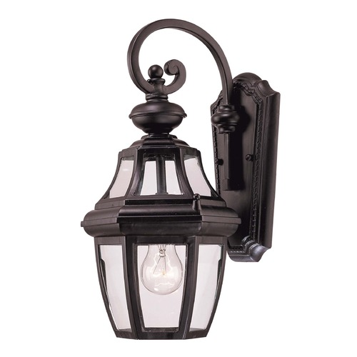 Savoy House Savoy House Black Outdoor Wall Light 5-491-BK