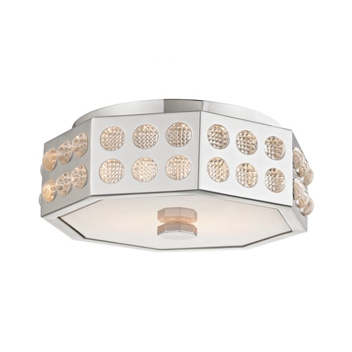 Hudson Valley Lighting Hudson Valley Lighting Hansen Polished Nickel Flushmount Light 8866-PN