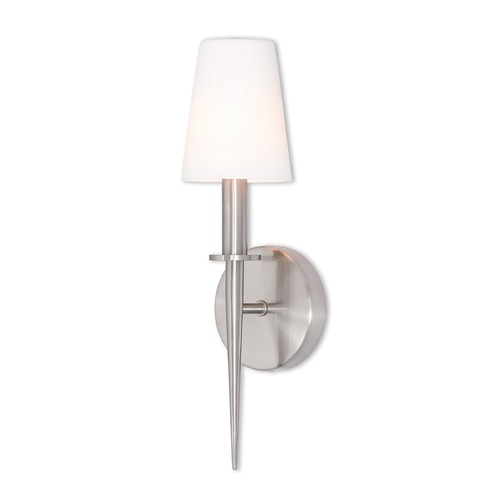 Livex Lighting Livex Lighting Witten Brushed Nickel Sconce 41692-91