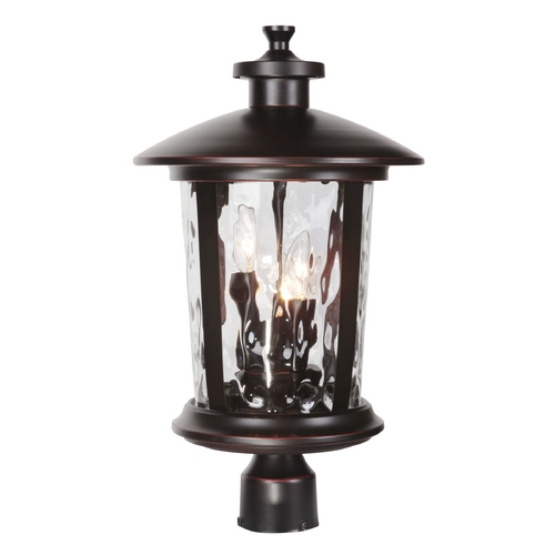 Craftmade Lighting Craftmade Lighting Summerhays Oiled Bronze Gilded Post Lighting Z7125-88