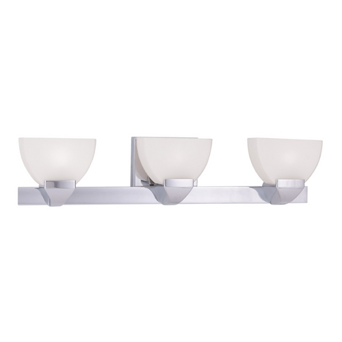 Livex Lighting Livex Lighting Gemini Chrome Bathroom Light 1363-05