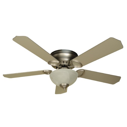 Craftmade Lighting Craftmade Lighting Pro Universal Hugger Brushed Satin Nickel Ceiling Fan with Light K10777