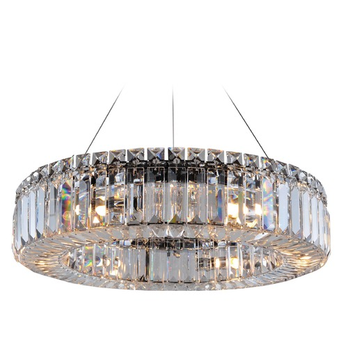 Allegri Lighting Rondelle 18in Round Pendant 11703-010-FR001