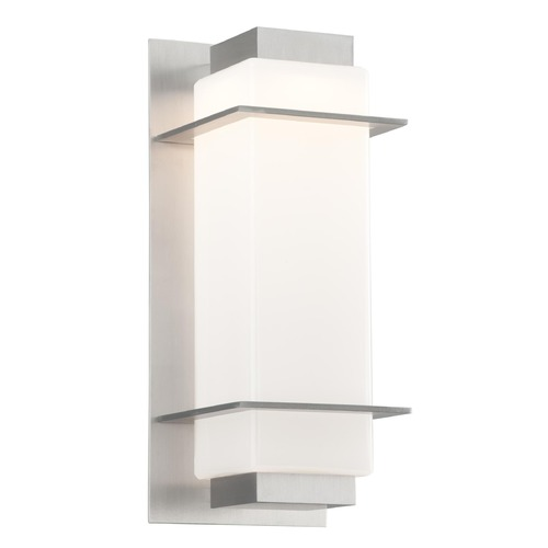 Troy Lighting Troy Lighting Paradox Satin Aluminum LED Outdoor Wall Light BL4602SA