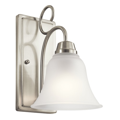 Kichler Lighting Kichler Lighting Bixler Brushed Nickel Sconce 45938NI
