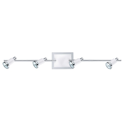 Eglo Lighting Eglo Eridan Chrome / Shiny White Directional Spot Light 200099A