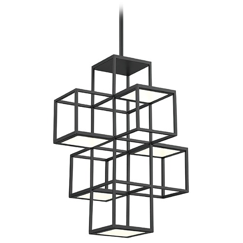 Eurofase Lighting Eurofase Lighting Ferro Black LED Pendant Light 38260-029