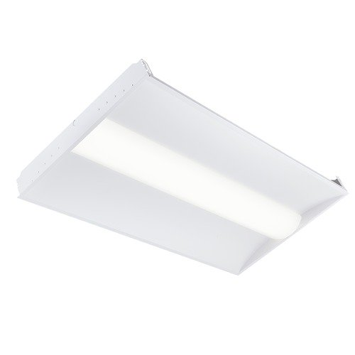 Recesso Lighting by Dolan Designs Recesso 2X4 White LED Troffer 3500K 5980 LM TF01-2X4-46W-35