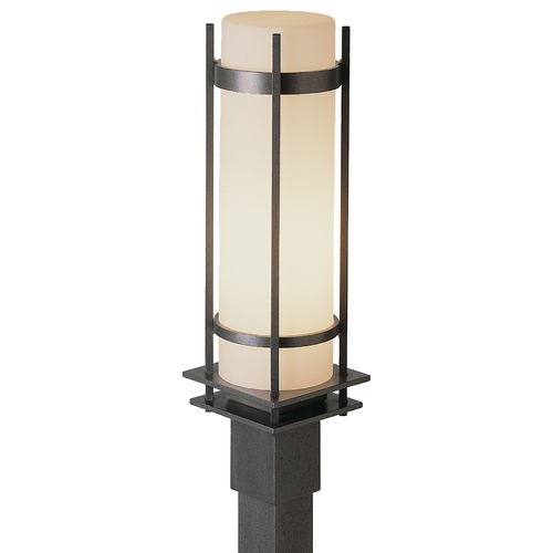 Hubbardton Forge Lighting Outdoor Post Light in Iron Finish - 22-1/4-Inches Tall  345894-20-G37