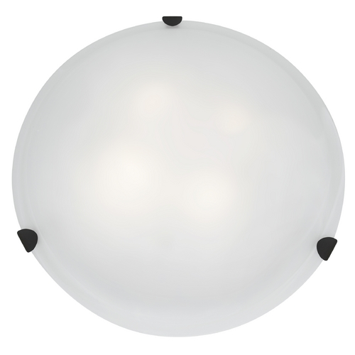 Access Lighting Access Lighting Mona Rust Flushmount Light 23021GU-RU/WH