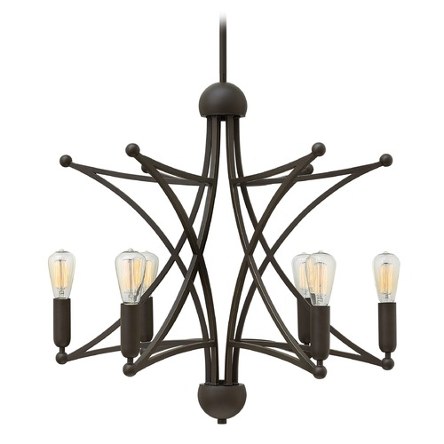 Hinkley Lighting Hinkley Lighting Stella Oil Rubbed Bronze Chandelier 3636OZ