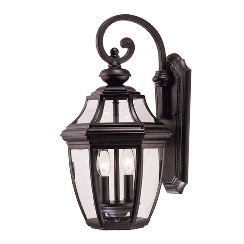 Savoy House Savoy House Black Outdoor Wall Light 5-492-BK