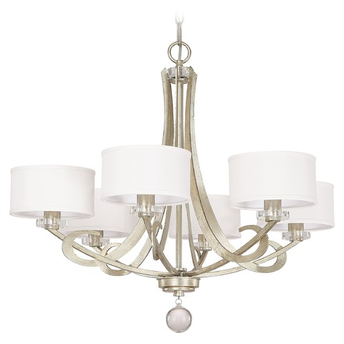 Capital Lighting Capital Lighting Hutton Winter Gold Chandelier 4266WG-552