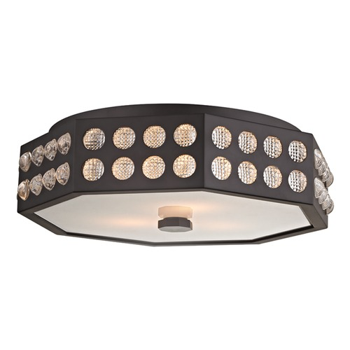 Hudson Valley Lighting Hudson Valley Lighting Hansen Old Bronze Flushmount Light 8868-OB