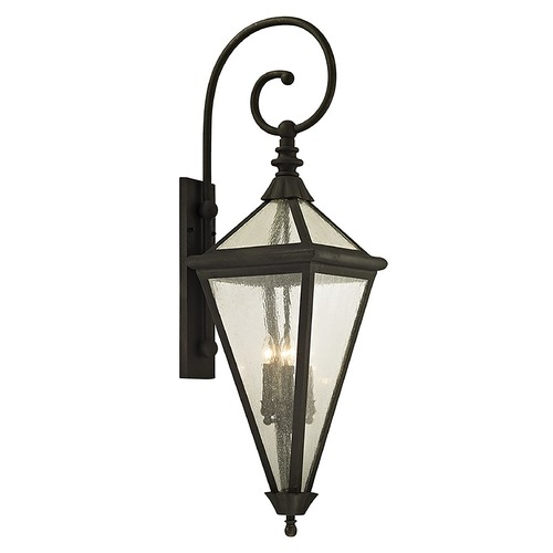 Troy Lighting Troy Lighting Geneva Vintage Bronze Outdoor Wall Light B6474