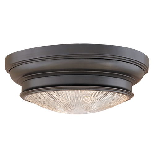 Hudson Valley Lighting Flushmount Light with Clear Glass in Old Bronze Finish 7516-OB