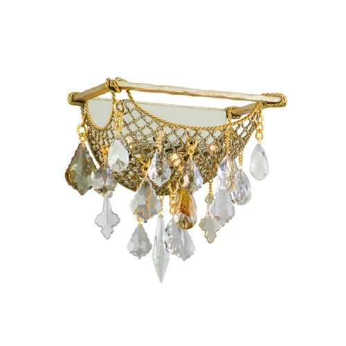 Corbett Lighting Corbett Lighting Barcelona Silver and Gold Leaf Sconce 125-13