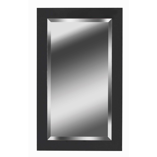 Kenroy Home Lighting Black Ice Rectangle 24-Inch Mirror 60095