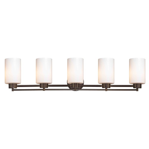 Design Classics Lighting Bronze Bathroom Light 706-220 GL1024C