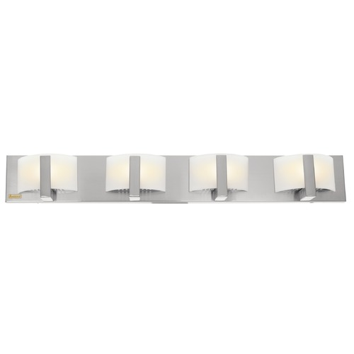 Access Lighting Access Lighting Oracle Brushed Steel Bathroom Light 62034-BS/OPL