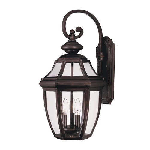 Savoy House Savoy House English Bronze Outdoor Wall Light 5-493-13