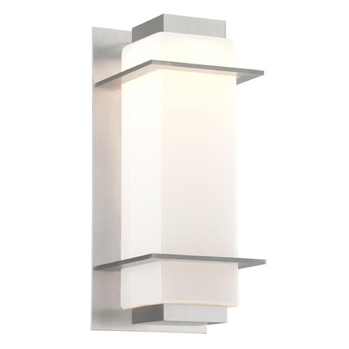 Troy Lighting Troy Lighting Paradox Satin Aluminum LED Outdoor Wall Light BL4603SA