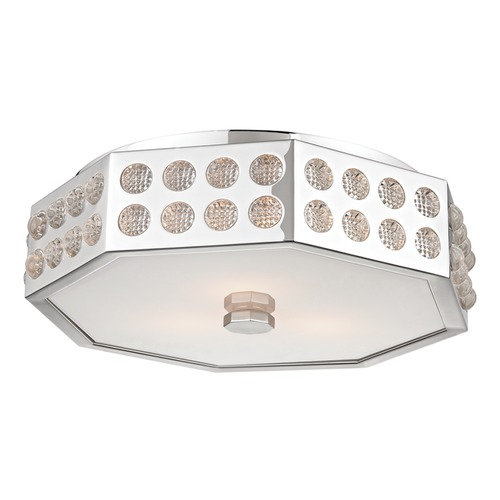 Hudson Valley Lighting Hudson Valley Lighting Hansen Polished Nickel Flushmount Light 8868-PN