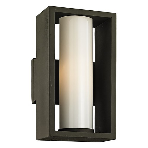 Troy Lighting Troy Lighting Mondrian Textured Bronze Outdoor Wall Light B6491
