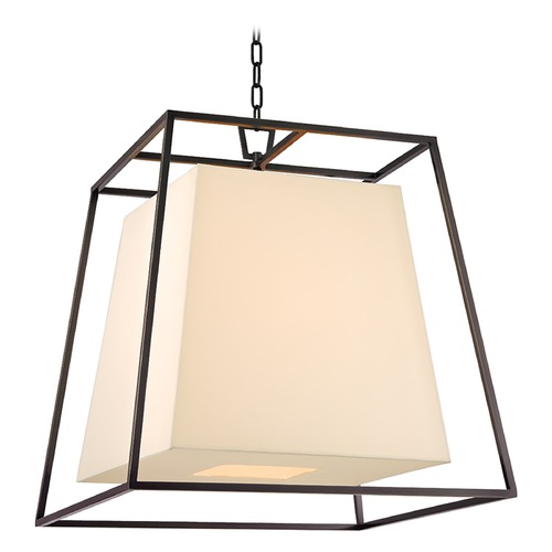 Hudson Valley Lighting Kyle 6 Light Pendant Light Square Shade - Old Bronze 6924-OB