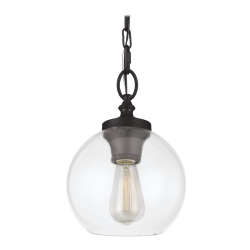 Feiss Lighting Feiss Lighting Tabby Oil Rubbed Bronze Mini-Pendant Light P1308ORB
