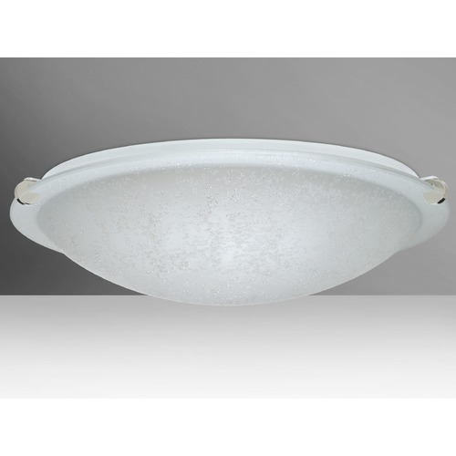 Besa Lighting Besa Lighting Trio Polished Nickel Flushmount Light 9680ST-PN