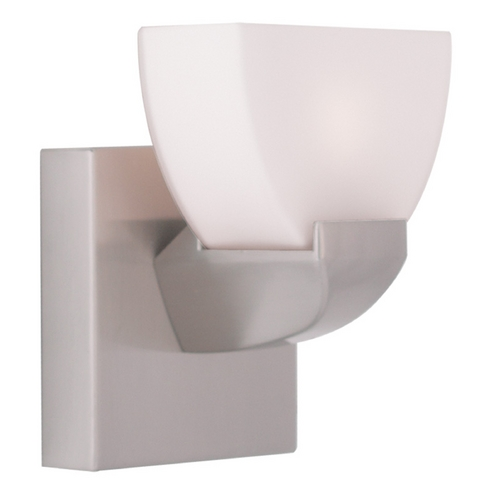 Livex Lighting Livex Lighting Gemini Brushed Nickel Sconce 1361-91