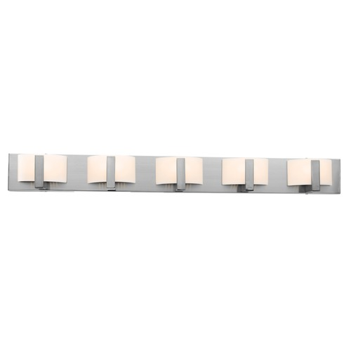 Access Lighting Access Lighting Oracle Brushed Steel Bathroom Light 62035-BS/OPL