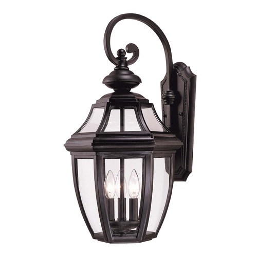 Savoy House Savoy House Black Outdoor Wall Light 5-493-BK