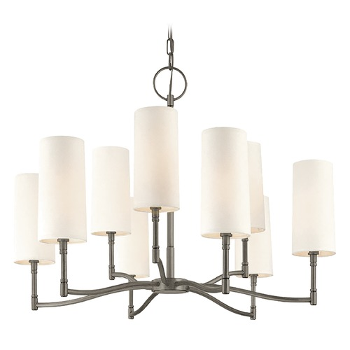 Hudson Valley Lighting Hudson Valley Lighting Dillon Antique Nickel Chandelier 369-AN