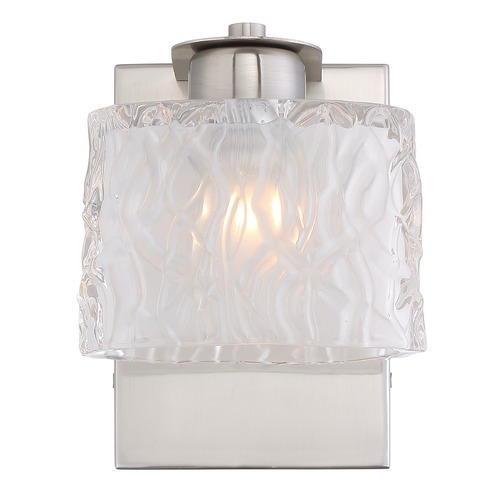 Quoizel Lighting Quoizel Lighting Platinum Collection Seaview Brushed Nickel Bathroom Light PCSW8601BNLED