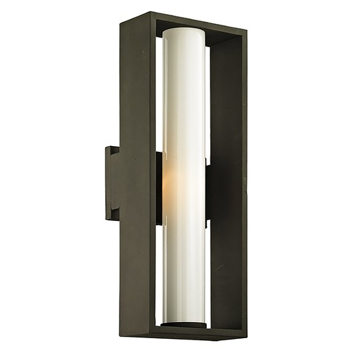 Troy Lighting Troy Lighting Mondrian Textured Bronze Outdoor Wall Light B6492