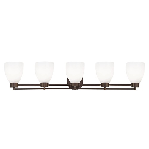 Design Classics Lighting Bronze Bathroom Light 706-220 GL1024MB