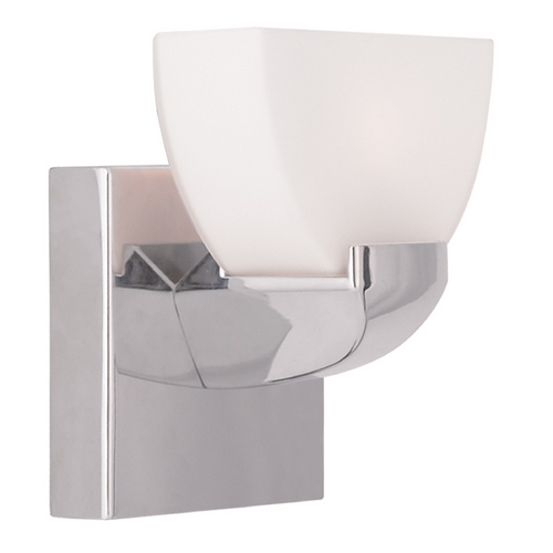 Livex Lighting Livex Lighting Gemini Chrome Sconce 1361-05