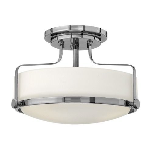 Hinkley Lighting Hinkley Lighting Harper Chrome LED Semi-Flushmount Light 3641CM-LED