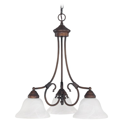 Capital Lighting Capital Lighting Hometown Burnished Bronze Chandelier 3224BB-220